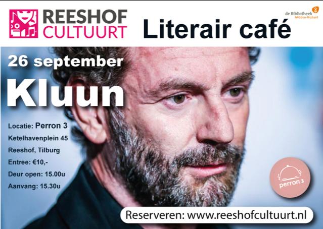 Literair Café met Kluun